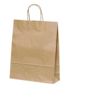 手提げ紙袋 HZ 未晒 無地 巾320×マチ110×高さ400mm(50枚セット) samipri