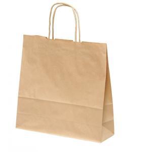 手提げ紙袋 HX 未晒 無地 巾320×マチ110×高さ320mm(50枚セット) samipri