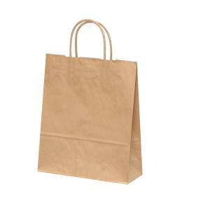 手提げ紙袋 HBT 未晒 無地 巾260×マチ100×高さ310mm(50枚セット) samipri