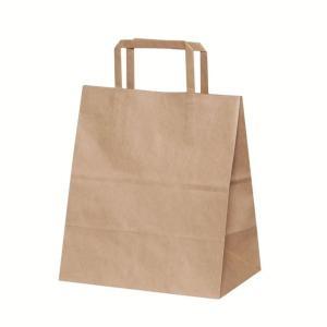 手提げ紙袋 H平2214 未晒 無地 巾220×マチ140×高さ250mm(50枚セット) samipri