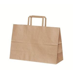 手提げ紙袋 H平 XS 未晒 無地 巾320×マチ115×高さ220mm(50枚セット) samipri