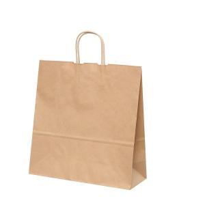 手提げ紙袋 HV100 未晒 無地 巾380×マチ150×高さ500mm(200枚セット) samipri