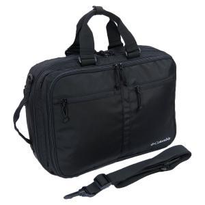 撥水性に優れ・軽量の3WAYビジネスバッグ。 素材には、雨や汚れを効果的に弾くコロンビア独自の撥水...