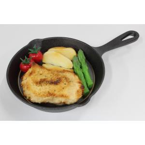 食品サンプル スキレット用チキン 6インチ 15センチ 販促物 インテリア  アウトドア