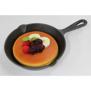 食品サンプル スキレット用パンケーキ 6インチ 15センチ 販促物 インテリア  アウトドア