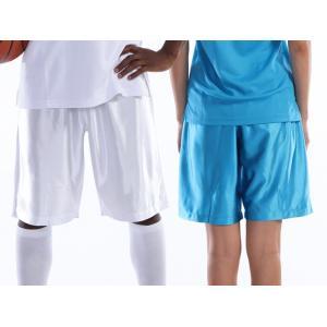 バスケットパンツ バスケットボール wundou(ウンドウ) S.M.L.XL.XXL (オリジナルプリント対応) (メール便可) ダンスパンツ バスパン 無地 単色 シンプル samsin 03