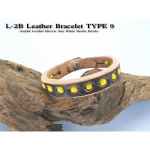 ブレスレット L-2B type9 ベンズレザー ブラウン|samuraicraft