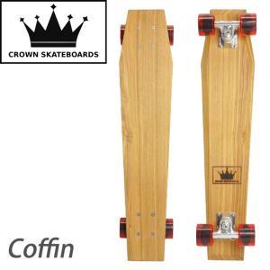 クラウンスケートボード Coffin|samuraicraft