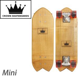 クラウンスケートボード mini|samuraicraft