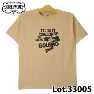 ダブルワークス 33005 GOLFING TODAY! Tシャツ|samuraicraft