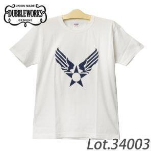 ダブルワークス 34003 AIR FORCE MARK Tシャツ|samuraicraft