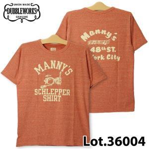 ダブルワークス 36004 MANNY'S Tシャツ|samuraicraft