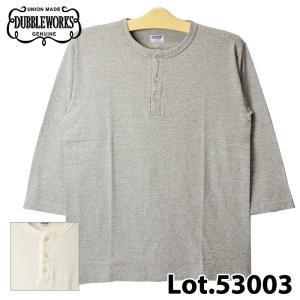 ダブルワークス 53003 HENLEY NECK Tシャツ|samuraicraft