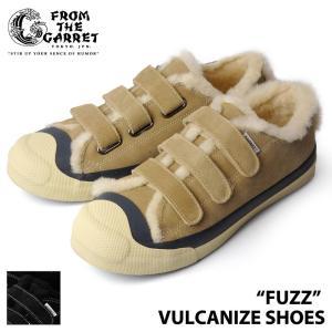 フロムザギャレット FTG1702-AC01T FUZZ VULCANIZE SHOES|samuraicraft