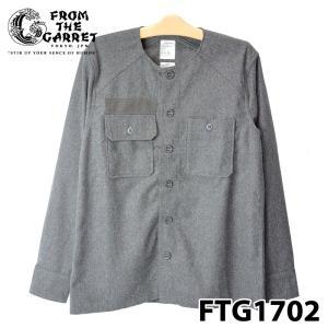 フロムザギャレット FTG1702-SH01 CHUTERS C.P.O SHIRT M.GRY|samuraicraft