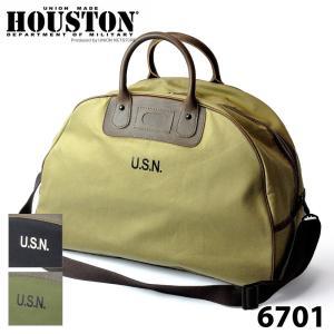 ヒューストン 6701 NAVY BOSTON BAG|samuraicraft