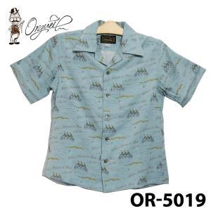 オルゲイユ OR-5019 オープンカラーシャツ|samuraicraft