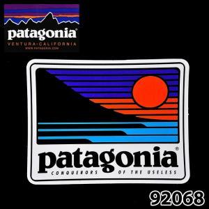 パタゴニア 92068 Up & Out Sticker ステッカー 日本正規品