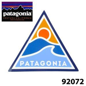 パタゴニア 92072 Rolling Thru Sticker ステッカー 正規品