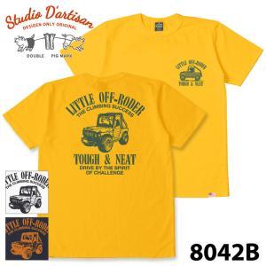 ダルチザン 8042B USAコットンプリント Tシャツ samuraicraft