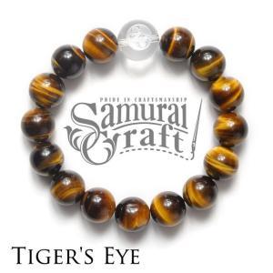 タイガーアイ 数珠ブレスレット|samuraicraft