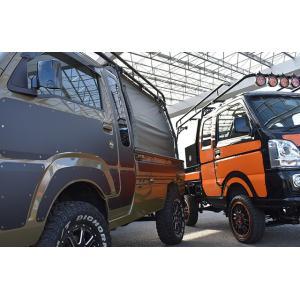 ハードカーゴ イージーデカール 軽トラック 簡単 ドレスアップ ハイゼット キャリイ S500P S510P DA16T|samuraipick