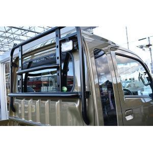 ハードカーゴ ガード 軽トラック 鳥居 ハイゼット ハイゼットジャンボ キャリイ スーパーキャリイ S500P S510P DA16T|samuraipick