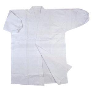 薙刀道用の薙刀衣です。  晒天竺(綿100%)  袖口ゴム付です。  サイズは、1〜4号の中から、お...