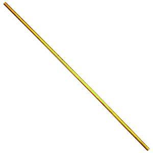 断面が八角形になっている、豪快な造りの六尺棒です。  白樫製  全長:181.5センチ 直径:30ミ...