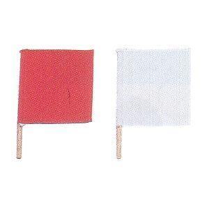 薙刀道試合用の審判旗です。 紅白セット、旗:約30×30cm、柄:約45cm 納期:3〜5営業日