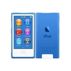 未使用品 ipod nano 第7世代 ブルー 2015年バージョン 安心の20日保障 本体 16G...