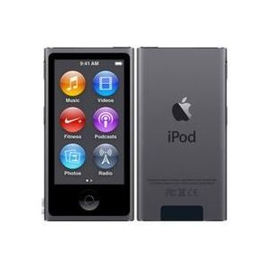 未使用品 ipod nano 第7世代 スペースグレイ 2015年バージョン 安心の20日保障 本体...
