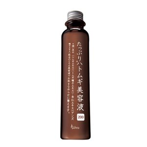 ビューナ たっぷりハトムギ美容液200 ポツポツ 角質ケア 保湿|san-choku