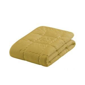 フランスベッド キャメル&ウールベッドパッド シングルサイズ 35996130|san-choku