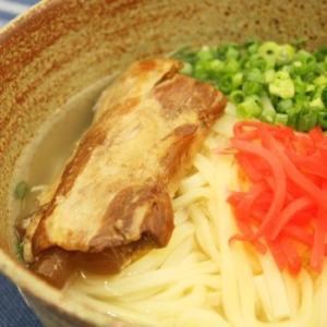 沖縄ソーキそば3人前 (味付豚肉・だし付) 軟骨ソーキ (生麺)|san3330|02