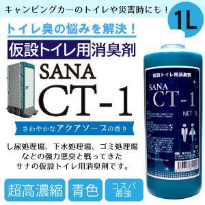 仮設トイレ用消臭剤 SANA-CT-1 1リットルボトル