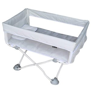 [7月5日キャンーペン] ベビーベッド  折りたたみベッド 添い寝ベッド 軽量 通気性良い 0〜24...