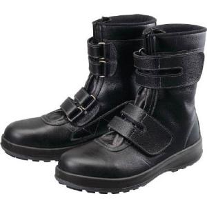 シモン 安全靴 長編上靴 マジック WS38黒 26.0cm