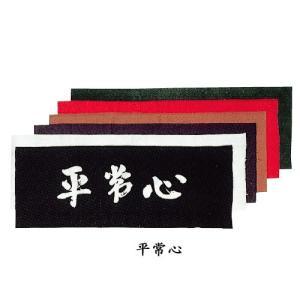 剣道 面手ぬぐい 面タオル  平常心 6色