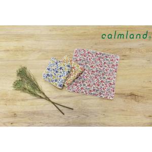 ハンドタオル/ガーゼ/小花柄/soil フラワー/calmland/カームランド|sanbyoshi-calm