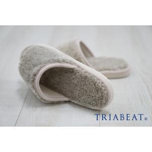 スリッパ/湯上がり/室内用/吸水/速乾/無地/ホワイト/ベージュ/ピンク/nobleソリッドカラー/TRIABEAT/トリアビート|sanbyoshi-calm