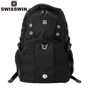 swisswin リュック メンズ リュック レディース リュック 大容量 リュック 通学 リュックサック ビジネスリュック 通勤 旅行 防災 SW9002|sancai