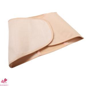 健康サポーター(1段)(1161)(M/L/LL/3L)(MARBLE)綿混/男女兼用/介護/日本製/腰痛/腰痛ベルト/マジックテープ/無地|sancha