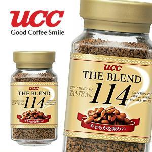 【送料無料】UCC THE BLEND ザ・ブレンド 114 90g瓶×12本入 1ケース (※東北・北海道・沖縄除く) sanchoku-support