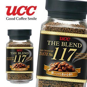 【送料無料】【3ケース】UCC THE BLEND ザ・ブレンド 117 90g瓶×12本入 3ケース (※東北・北海道・沖縄除く) sanchoku-support
