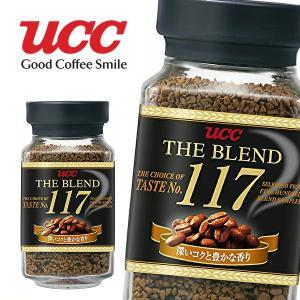 【送料無料】UCC THE BLEND ザ・ブレンド 117 90g瓶×12本入 1ケース (※東北・北海道・沖縄除く) sanchoku-support