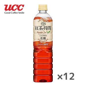 【送料無料】UCC 霧の紅茶 紅茶の時間 ストレートティー 低糖 930mlPET×12本入 1ケース (※東北・北海道・沖縄除く)|sanchoku-support