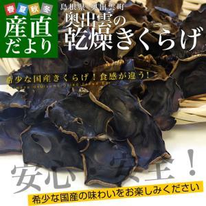 島根県より産地直送 奥出雲キノコ 乾燥キクラゲ 50g×3袋 送料無料|sanchokudayori