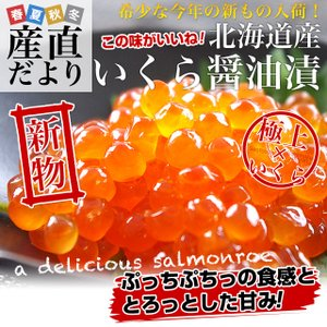 北海道産 いくら醤油漬け 200g 送料無料