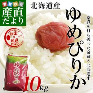 平成29年産 <特A> 北海道産 ゆめぴりか 10キロ お米 北海道米|sanchokudayori